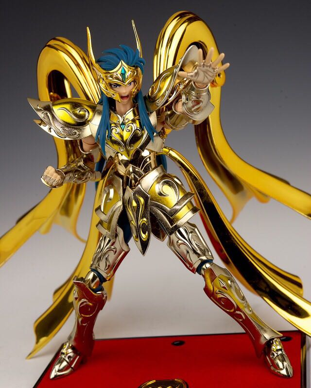 MODEL FANS IN-STOCK speeding model Aquarius Camus soul of god Saint Seiya metal armor Cloth Myth Gold Ex2.0 action Figure saint seiya myth cloth camus metal