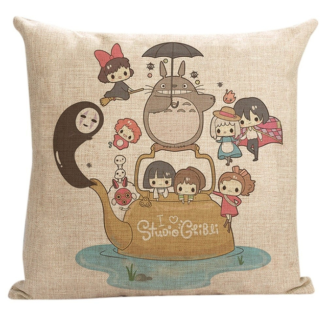 45x45Cm Vintage Totoro Pillows Cover (3 design)