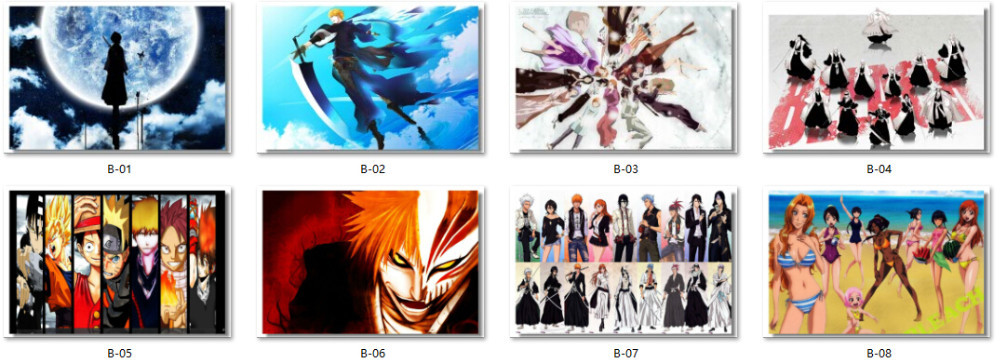 Bleach Wall Posters