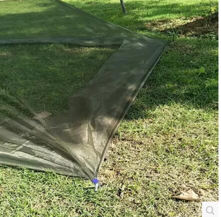Outdoor mosquito net single camping portable mosquito net outdoor patio mobile folding