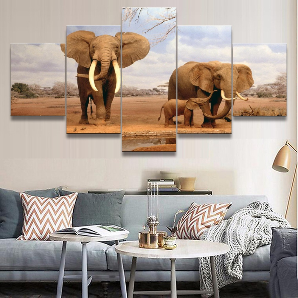 Canvas Wall Art Modular Pictures Frame Home Decor Living