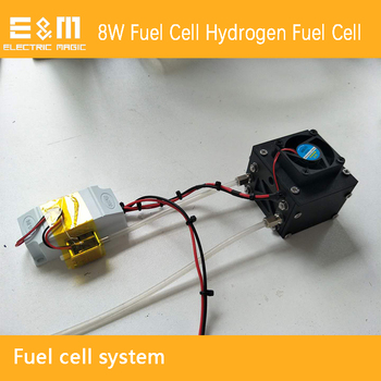 8W Fuel Cell System Hydrogen Fuel Cell System With Fuel Cell Stack Voltaic Pile Evacuation Valve Fuel Cell Controller Fan
