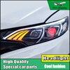 Car Styling Headlight For Honda Fit GK5 Headlights 2014 2016 Head Lamp LED DRL Front Light