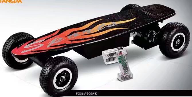 4 Roues Électrique planche à roulettes, télécommande Sans Fil scooter électrique 400 w 800 w pour unisexe électrique planche à roulettes livraison gratuite