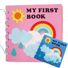 Diy Craft My First Book Package Kindergarten Toys Early Learning Educational Picture Handmade DIY Material Kit For Children