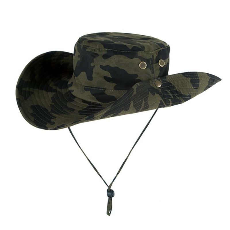 7 Color Camflage Military Bucket Hat for Men Outdoor Sunhat Hiking Fishing Hat Male Sun Protection Fisherman Hat Summer