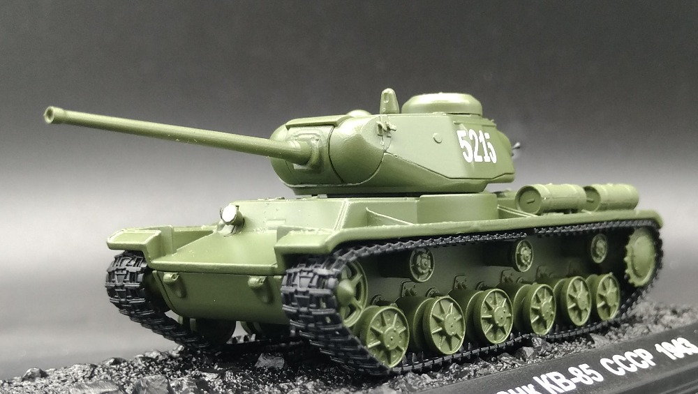 AM 1:72 Soviet WWII KV-85 heavy tank model 5215 Alloy tank model Favorites Model платье top secret платье