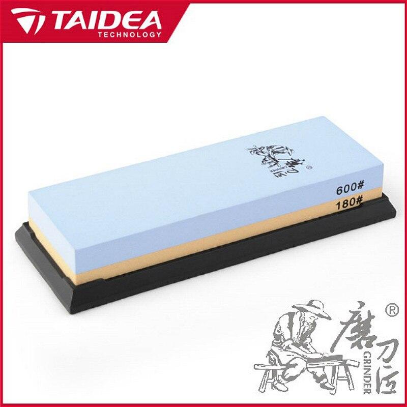 TAIDEA Kitchen Knife Sharpener 180 600 Grit Professional Knife Sharpener Whetstone