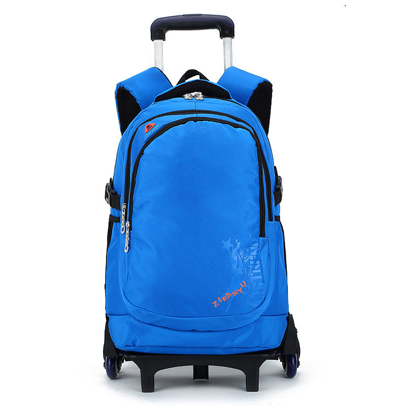 Latest Removable Children School Bags With 3 Wheels Stairs Kids Big boy Trolley Schoolbag Luggage Book Bags Wheeled Backpack цены
