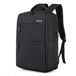 "Image 2 - 17 inch backpack plecak Backpack USB mochila 17"" pulgadas laptop 2019 Travel Backpack nylon Waterproof rugzak proof School Bag"