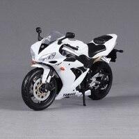 Original New Children Mini Yamaha Super Cross YZF R1 Metal Die Cast Models Motor Bike Motorcycle