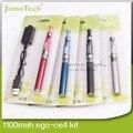 Ego CE4 Kits Blister pacote Ego CE4 atomizador 650 mah 900 mah 1100 mah de bateria melhor cigarro E caneta vaporizador portátil