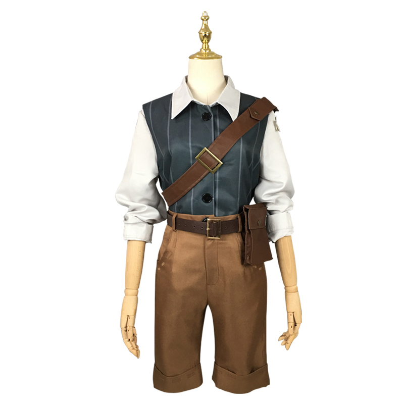Game Identity V Cosplay Costumes Spring Hand Mercenary Nab Sabeda Cosplay Costume Hoodie Halloween Party Unisex Customized in Game Costumes from Novelty Special Use