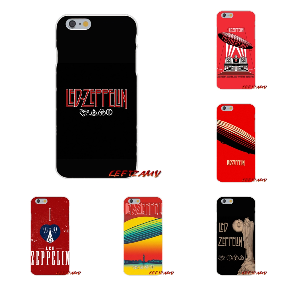 For Samsung Galaxy S3 S4 S5 MINI S6 S7 edge S8 S9 Plus Note 2 3 4 5 8 Accessories Phone Cases Covers Rock Band Led Zeppelin