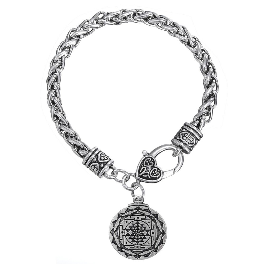Dawapara Sri Yantra Great Wealth Hindu Goddess Pendant Tantric Yoga Hindi Jewelry Bulk Male Carter Bracelet Men hindi zahra hindi zahra homeland 2 lp