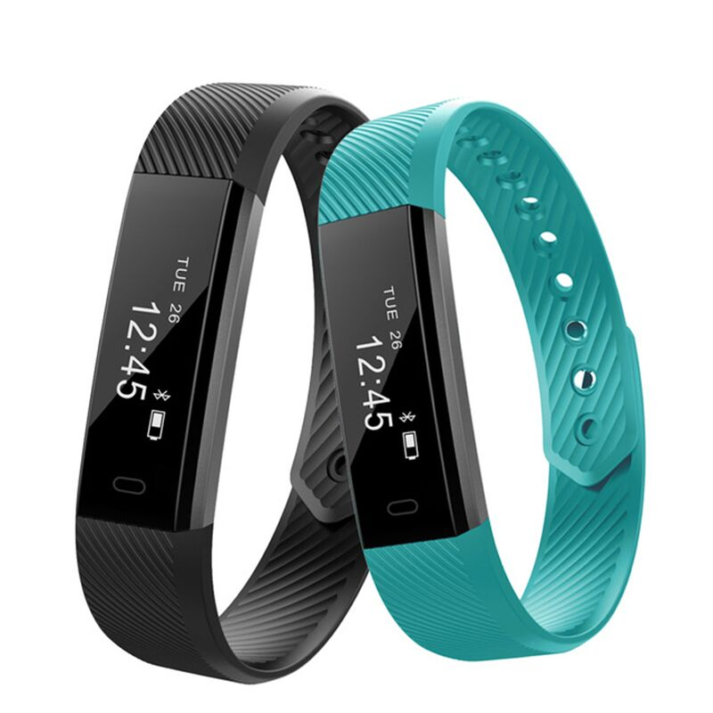 2018 ID115 HR Diggro Smart Bracelet Heart Rate Monitor Activity Tracker Smart Band Waterproof Wristbands For IOS Android
