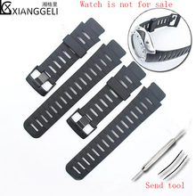 Horloge Accessoires 22mm SUUNTO X LANDER mannen Buitensporten Fashion Business Rubber Strap