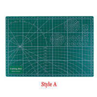Sent At Random PVC Cutting Mat A4 Durable Cut Pad Patchwork Tools Handmade Diy Accessory Cutting Plate Dark Green 30*22cm