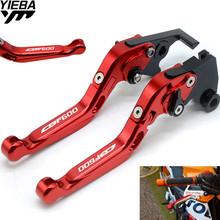 цена на cbf600  Motorcycle Accessories Adjustable Folding Brake Clutch Levers FOR HONDA CBF600 CBF 600 CBF600/SA 2010 2011 2012 2013