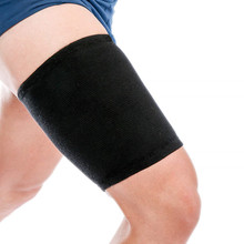 1 Pair Men's Leg Sleeves Neoprene Slimming Leg Warmer Exercise Stretch Body Shapers Hot Sale Thigh Sleeve Protection Compression цены онлайн