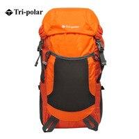 Tri-polar açık yürüyüş sırt çantaları Ultralight katlanabilir sırt çantası adam su geçirmez seyahat spor sırt çantası kamp çantası