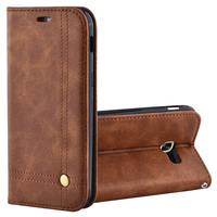For Samsung Galaxy A5 2017 Case Dirt Resistant Luxury PU Leather Flip Phone Bags Cases For