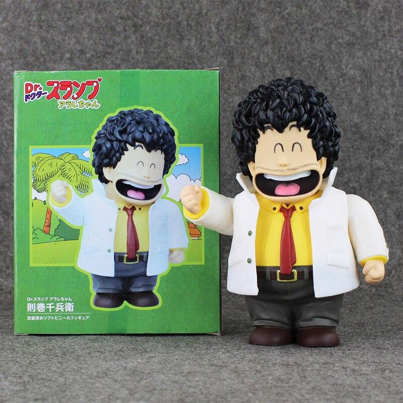 21cm Anime Cartoon Dr. Slump Senbei Norimaki PVC Action Figure Toy Doll Collection Model OF149 arale figure anime cartoon dr slump pvc action figure collectible model toy children kids gift 6 types