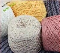 1pcs Free Shipping Baby Yarn Brands Cotton Yarn For Hand Knitting Sweaters Hats Yarn
