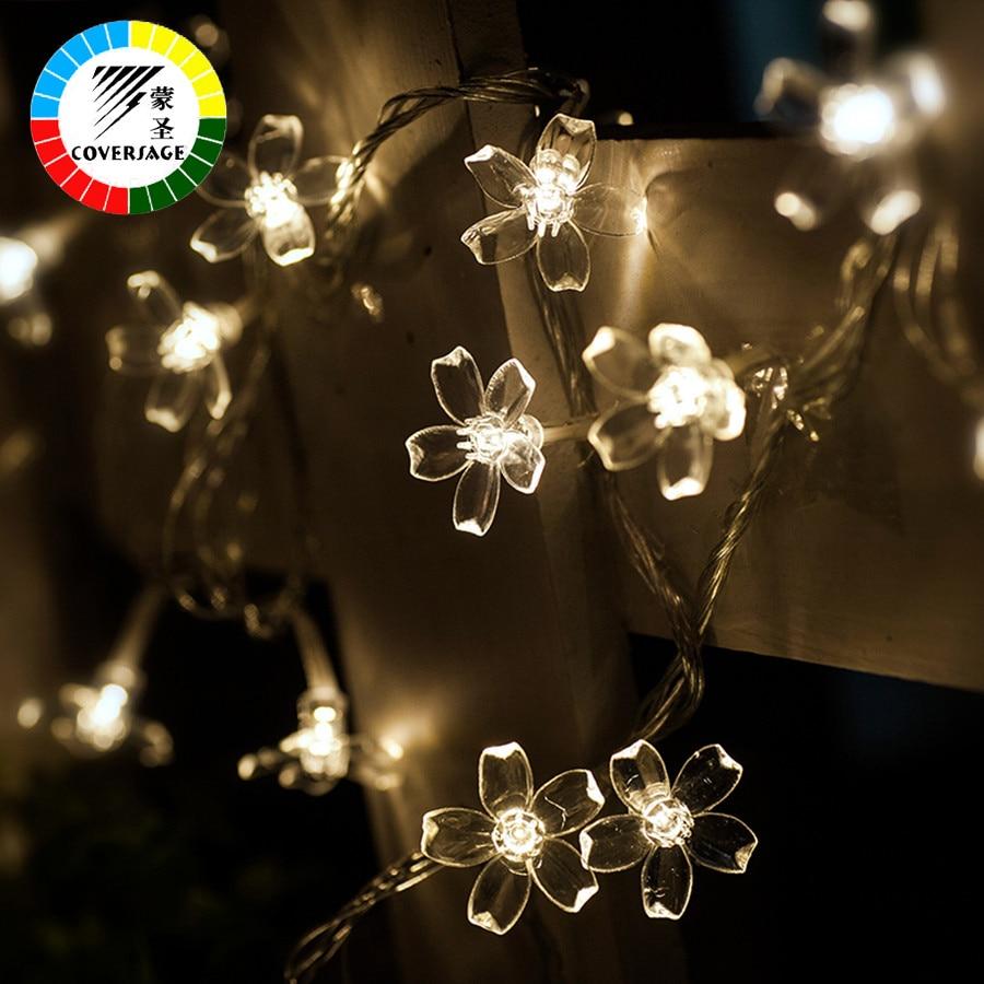 Coversage 10M 100 Led Рождестволық Гарленд - Мерекелік жарықтандыру - фото 3