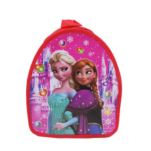 29*23*13cm1pc Frozen Gift Bag Daypack backpack Cartoon Schoolbag Kid  Birthday Party supplies