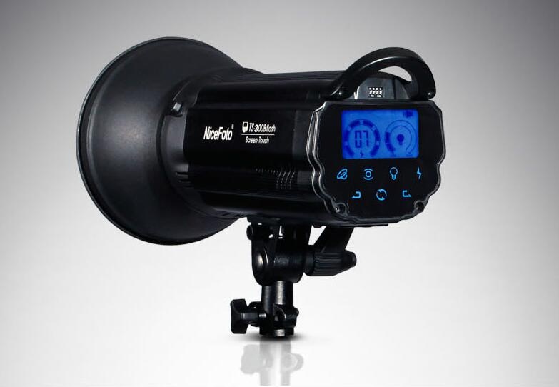NiceFoto TS 300B 300W Led Screen Touch Strobe Flash Studio Light NiceFoto photographic lamp ts 300b