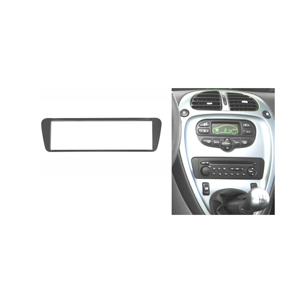U2116one Din Car Radio  U0669   U203f   U06f6 Fascia Fascia Panel For Citroen Xsara Xsara Picasso 1999