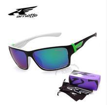 2016 brand sunglasses Hot Latin Arnett female models sport hombres case glasses oculos sunglasses Sole Hotel Original