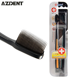 Charcoal nano black bamboo toothbrush kids 2pc pack travel brosse a dents ultra soft toothbrush wholesale.jpg 250x250