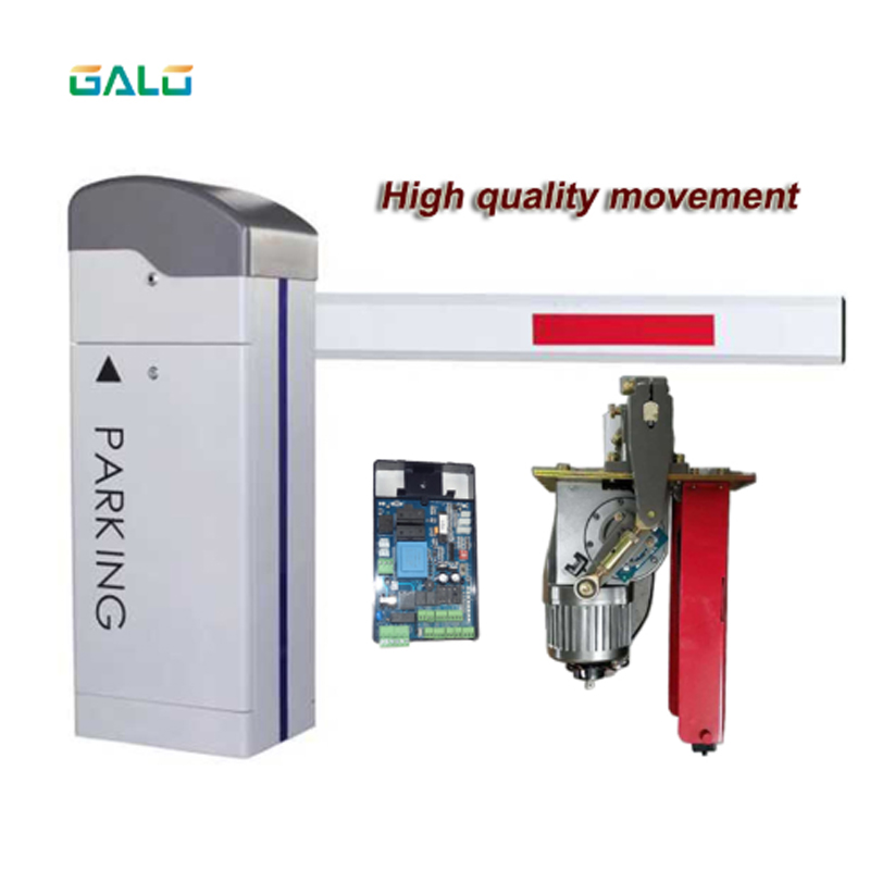 High Quality Boom Arm Automatic Barrier Gate For Car Parking Management System Automatic Barrier Park Square Barrier Parking Bar