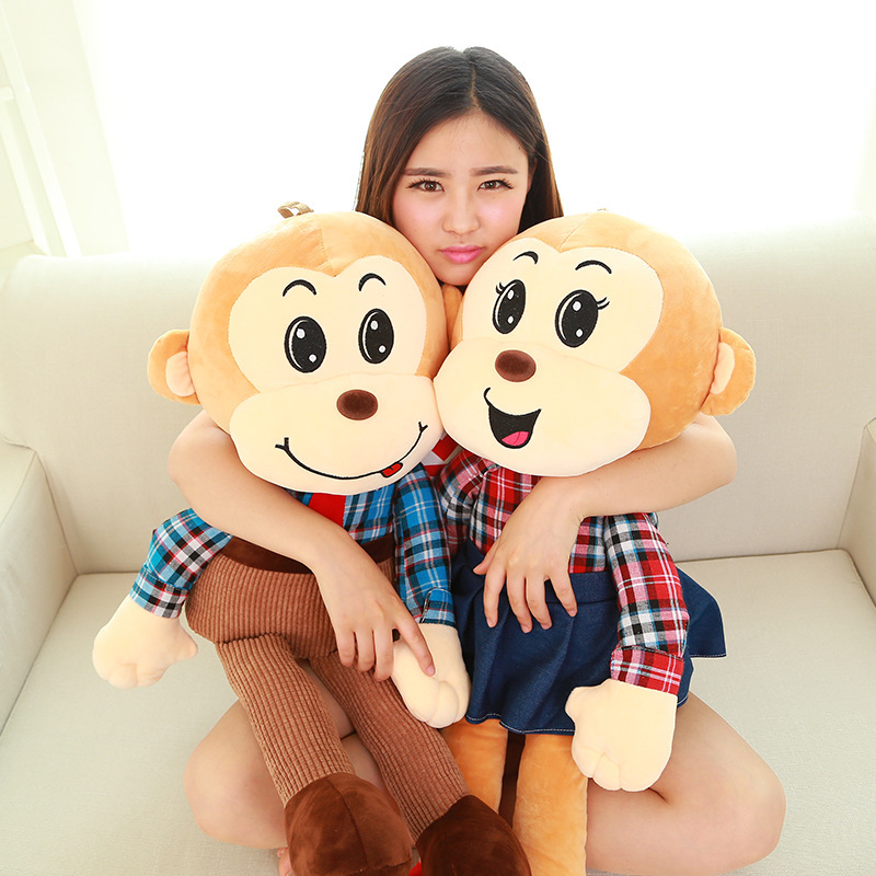 New Arrival large stuffed monkey Plush Toys High Quality Giant Stuffed Monkey Doll Big Stuffed Monkey Soft Plush Toy Baby Toy