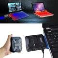 Nueva Promoción Mini Aspiradora USB Enfriador de Aire Del Ventilador de Refrigeración de Escape de Extracción Extractor Procesador CPU Cooler Para Portátil Notebook PC