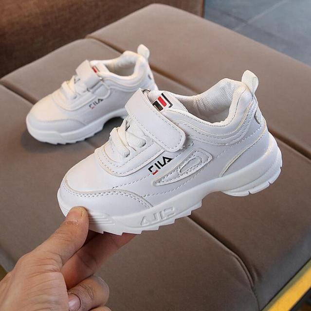 Children Baby Girls Shoes Fashion Causal Sneakers Comfortable Shoes Pink White Black Sneakers Sneakers Kids Shoes For Girls