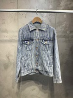 19 early spring new nail drill denim suit 0318