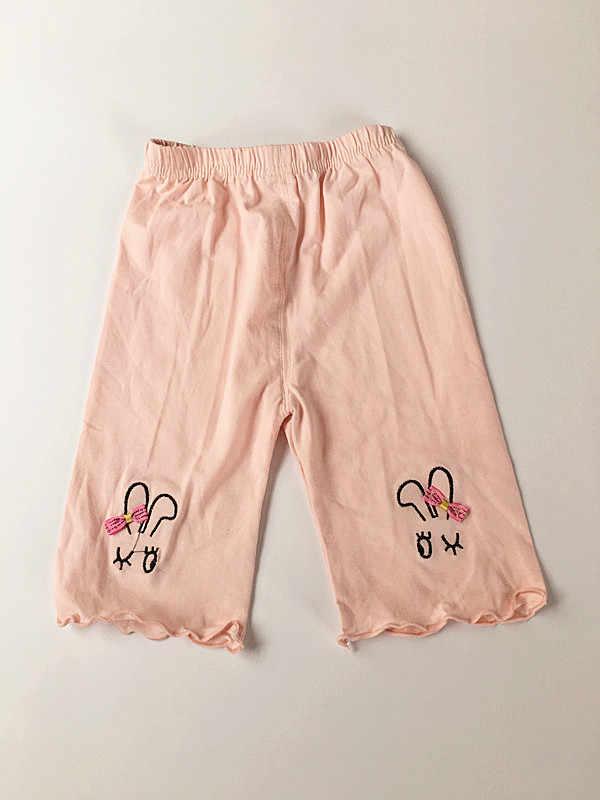 (1 sztuk/partia) 100% bawełna 2019 nowy lato różowy królik miękkie dziewczyna krótki dla dzieci 80 cm