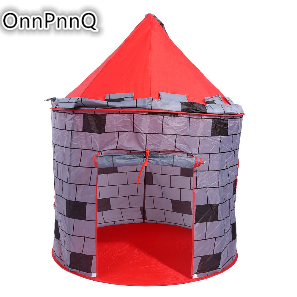 hot kids portable foldable play tent childrens tents toys wall design ball pool cubby house balls pit outdoor sport toy