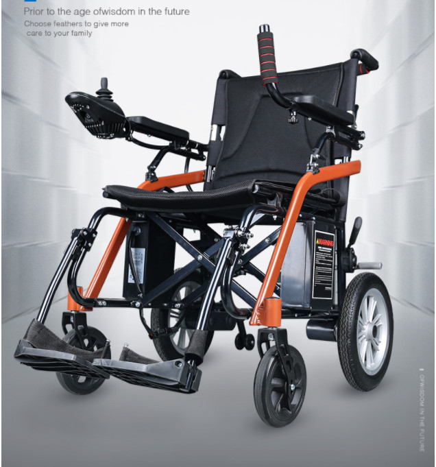 2019 hot sell power electric font b wheelchair b font net weight 18kg 180w 2motor for