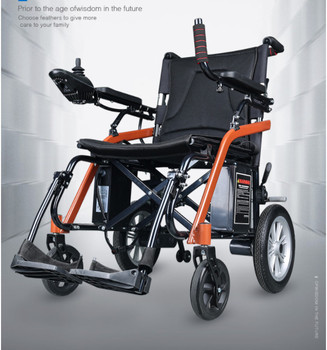 2019 new style fashion new automatic foldable power wheelchair 18kg for disabled
