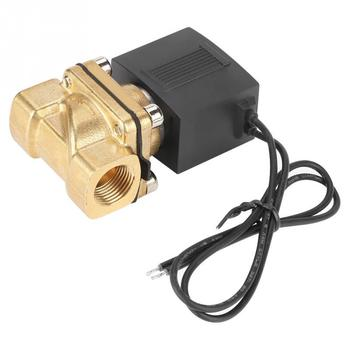 цена на 0-1.0MPa G38 2 Way Direct Acting Normally Closed Solenoid Valve Electric Magnetic Valve for Air water steam gas
