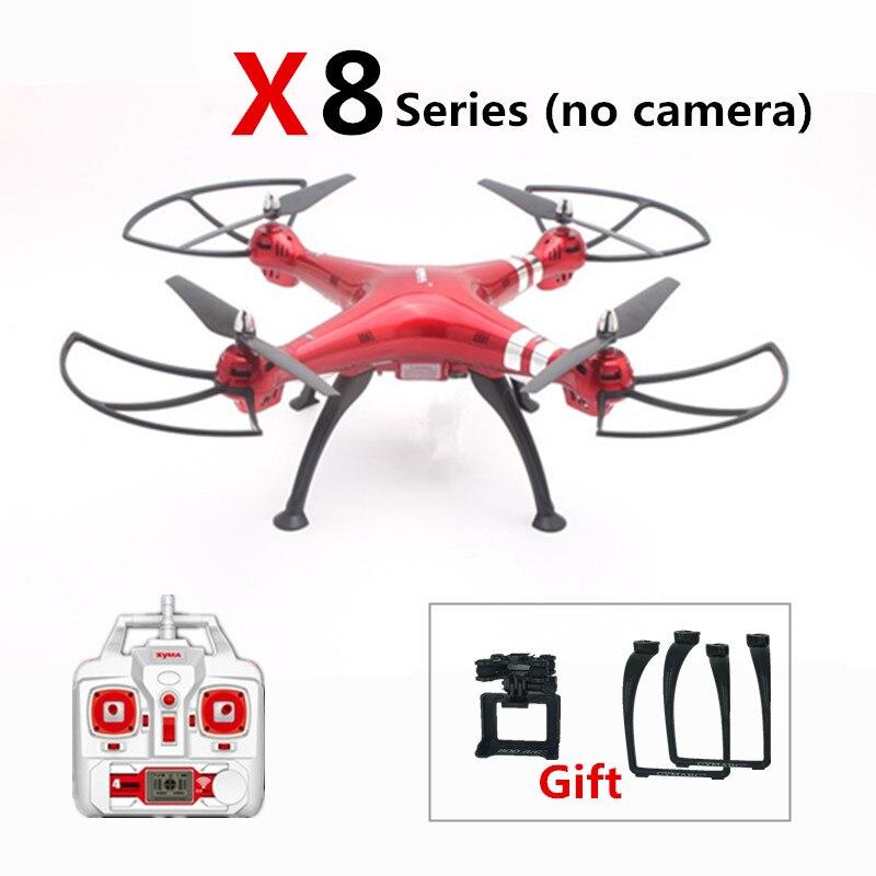 SYMA X8 X8C X8G X8HG X8HC RC Drone 2.4G 4CH RC Hélicoptère Quadcopter Professionnel FPV Drones Pas de Caméra Peut Ajouter caméra