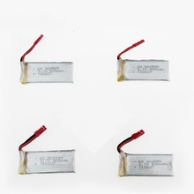 3.7v 800mah 20c lipo battery 4pcs jjrc H12C F181 F187 F163 Helicopter  rc drone part wholesale