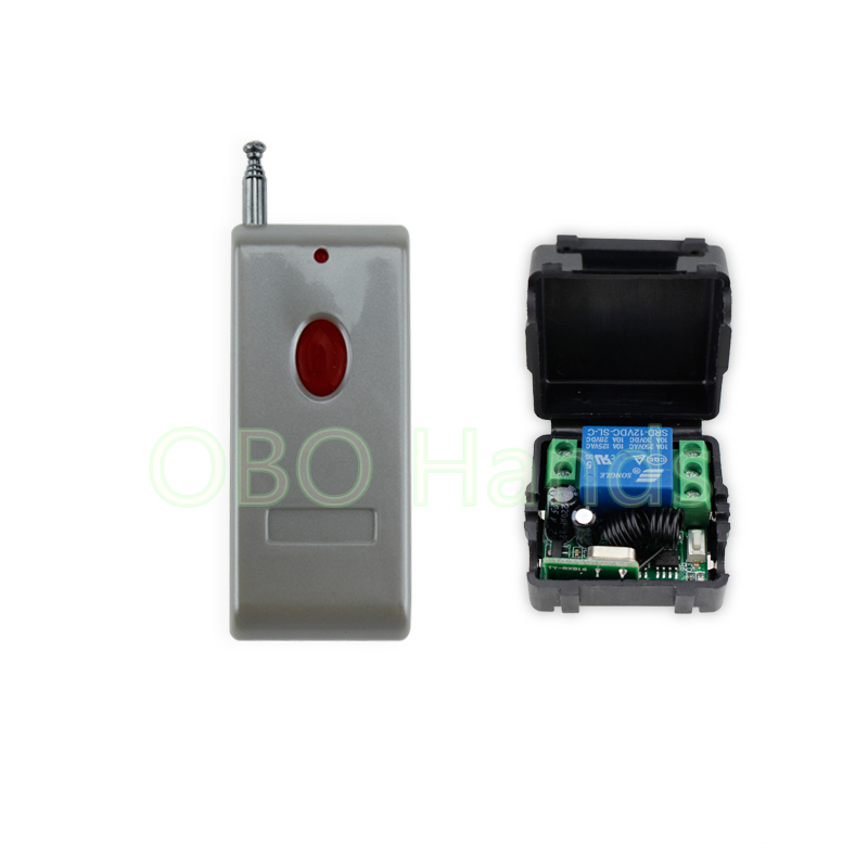 100meters 315/433MHz 12V access control wireless remote control with receiver+shell for electric door lock can up to 100m-SB11 wireless pager system 433 92mhz wireless restaurant table buzzer with monitor and watch receiver 3 display 42 call button
