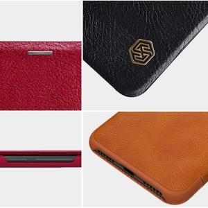 Image 5 - Xiaomi Redmi Hinweis 6 Pro Leder Fall NILLKIN Qin Serie Wallet Flip Abdeckung Fall Für Redmi Hinweis 6 Pro Echtem flip Leder Fall