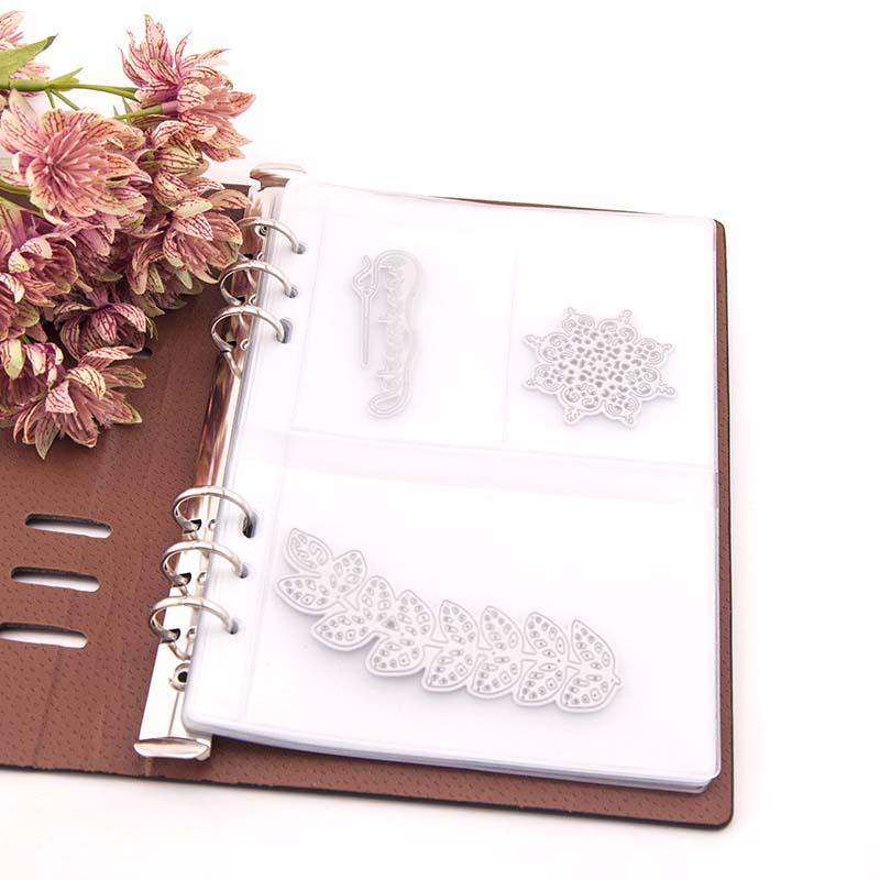 Cutting Dies Storage Book Collection DIY Scrapbooking Stencil Album Cover Holder TN88