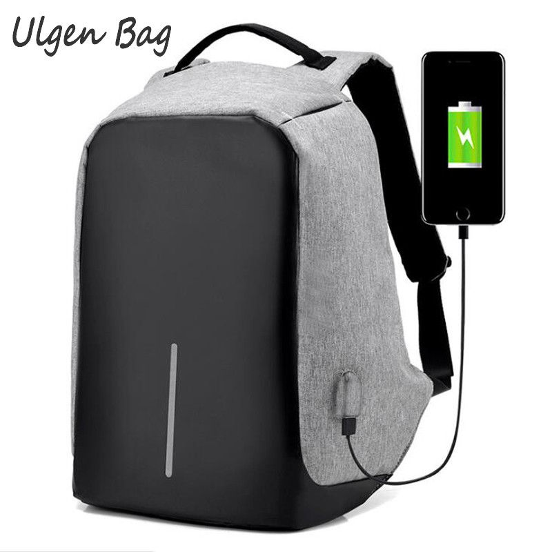 Anti-theft Waterproof Laptop Backpack Men External USB Charge Notebook Security Backpack for Women Multi function Computer Bag